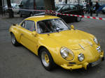 Alpine Renault a110 yellow