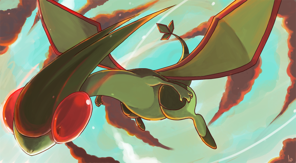 Pokemon of the Month - Voting! Flygon_by_seiryuuden