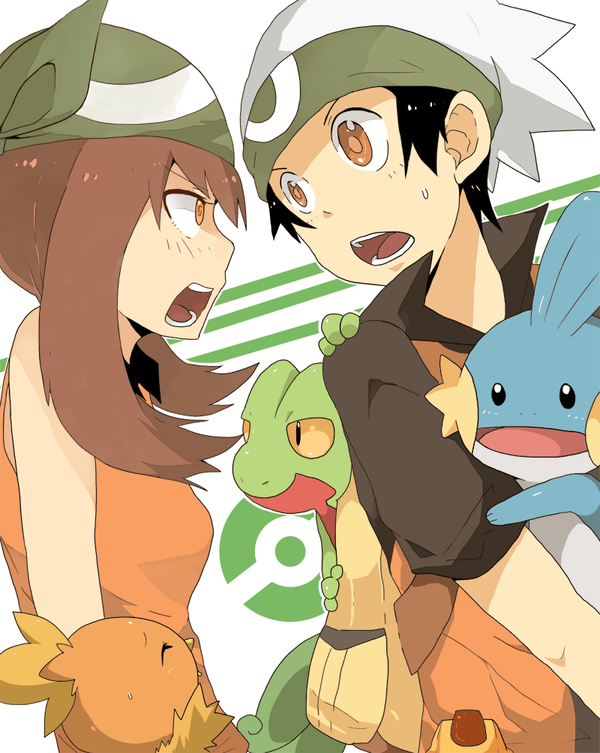 Hoenn Peeps By Seiryuuden On Deviantart