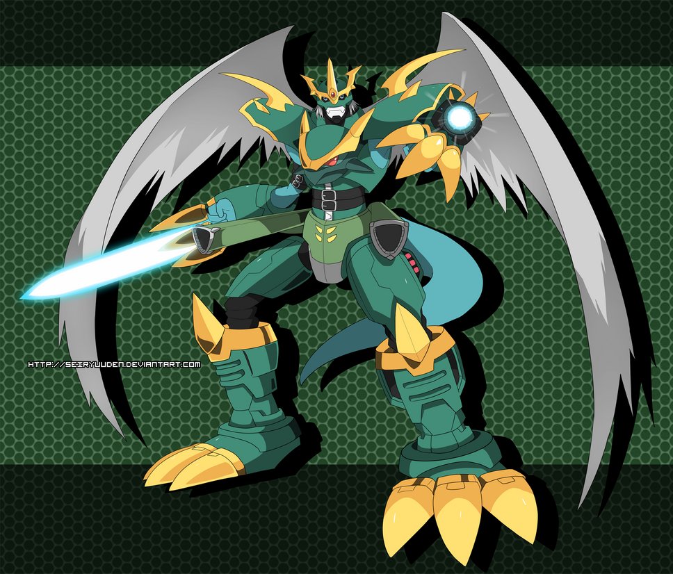 Commission: Imperialdramon Dragoon Mode by seiryuuden on ...