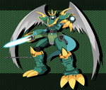 Commission: Imperialdramon Dragoon Mode
