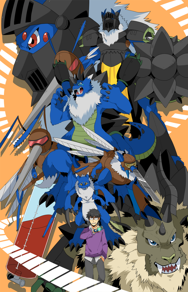 Commission: Team Severi by seiryuuden