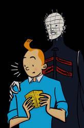 Tintin and the Cenobites