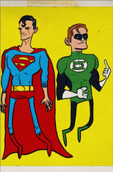 Super and GL - why is the background yellow?