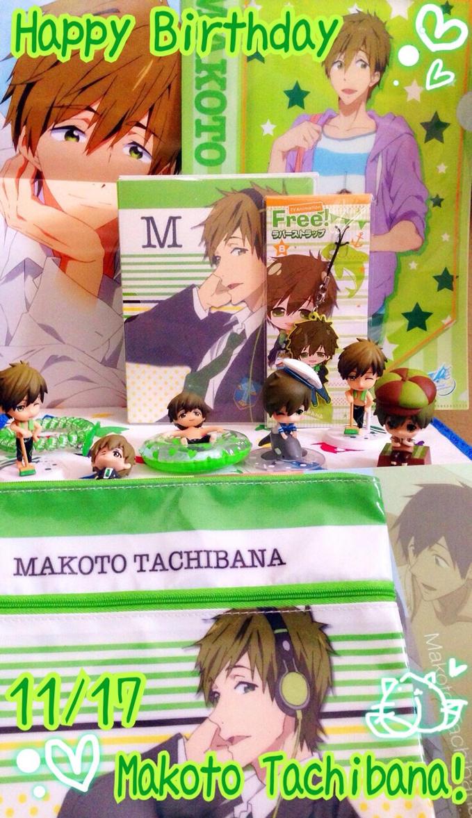 Happy Birthday Makoto!2014 by Momocatluv