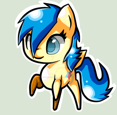 Crystal Comet (Art Trade with Spitfire-SOS) by CrystaltheTimeLady