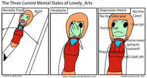 The Three Current Moods of Lonely Arts