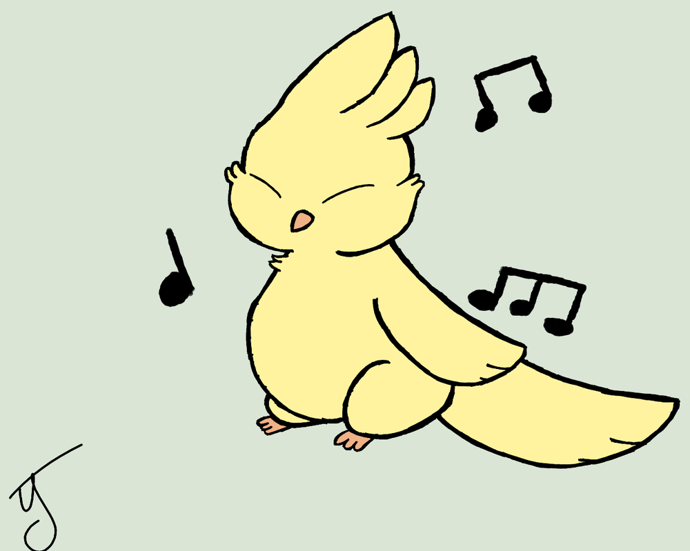 Gillbird by puppyland25