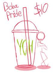 Boba Pride YCH