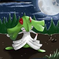 Under the moonlight by Kureeru