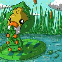 New caterpillar pokemon by Kureeru
