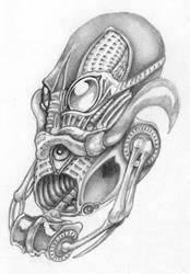 Bio Mech Tattoo