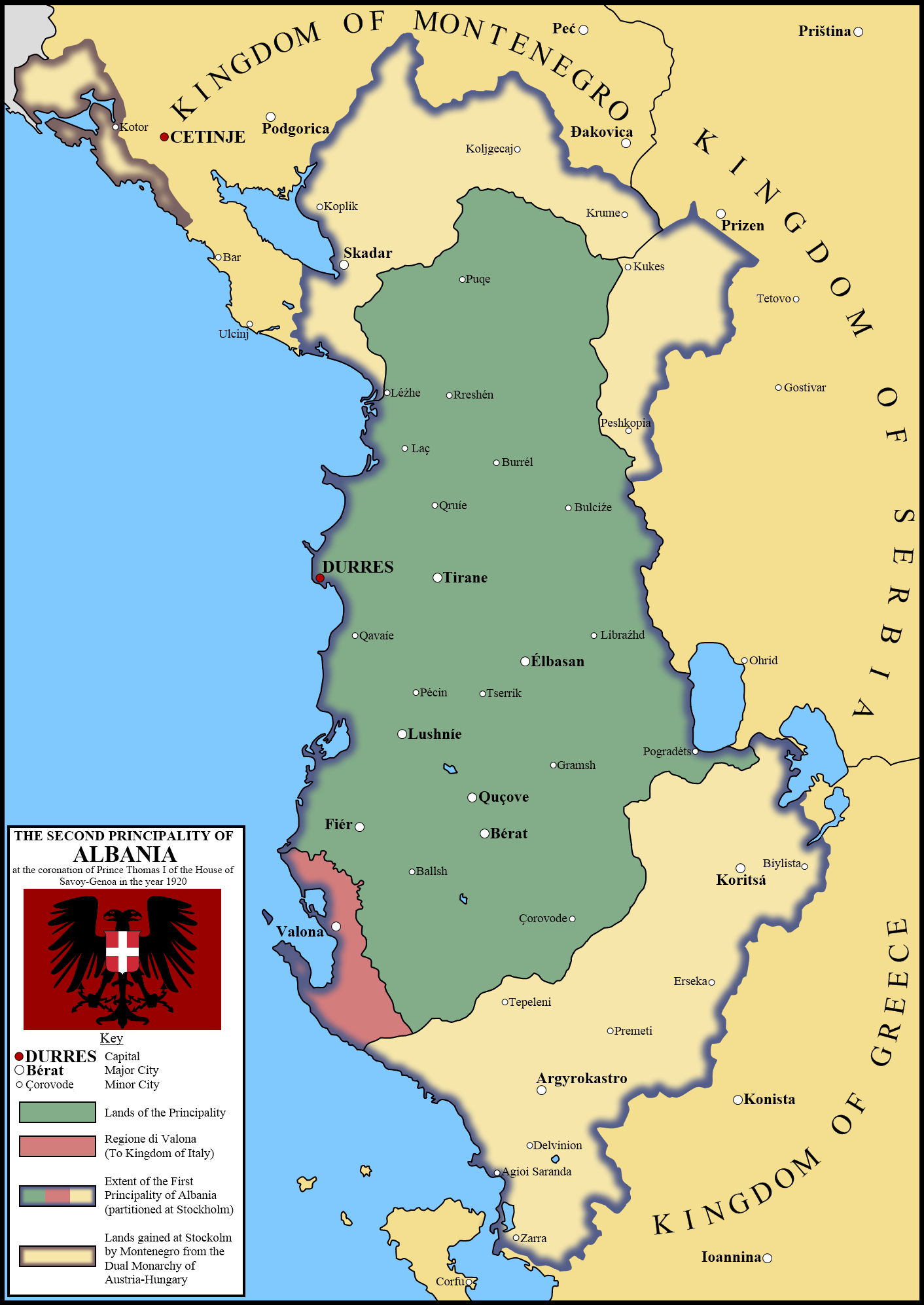 albania Albania (アルバニア, arubania) is a fan-made character made for hetalia: axis powers or hetalia: the beautiful world she is a country in southeastern europe one of the countries bordering her is greece located to the south and southeast albania is also 72 km (45 mi) away from italy albania is.