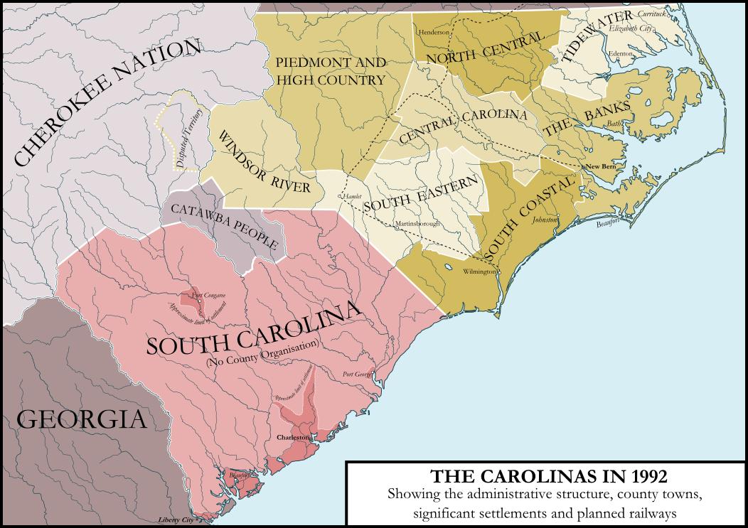 The Carolinas by ImperatordeElysium