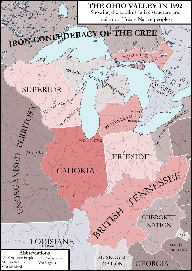 The Ohio Valley by ImperatordeElysium