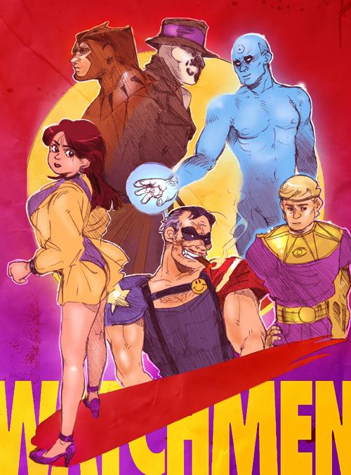 Watchmen by Barukurii