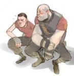 Shy Heavy Weapons Guy