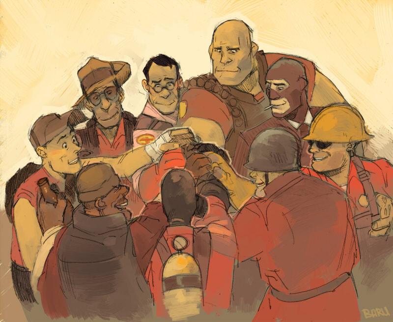 Team Spirit by Barukurii