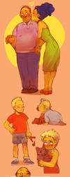 Simpsons Luv by Barukurii