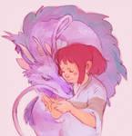Pure love broke the spell
