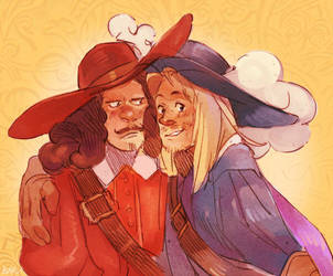 Renaud and Dory by Barukurii