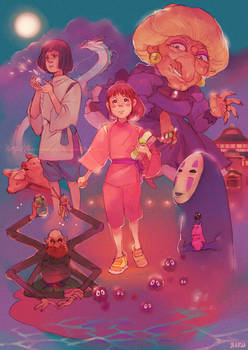 Spirited Away +Always With Me+