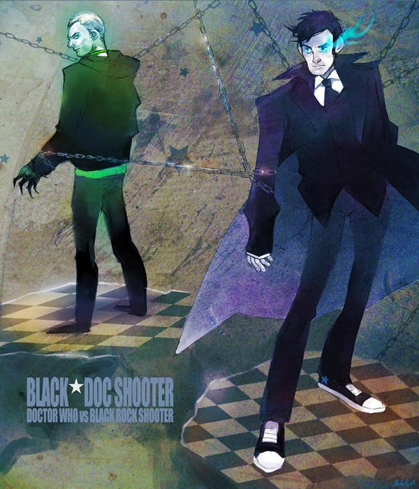 Black+Doc Shooter XD by Barukurii