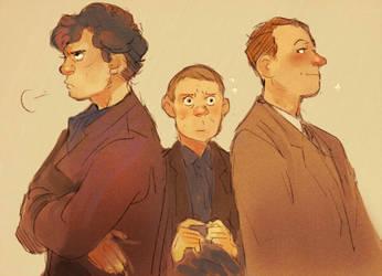 Sherlock: Brothers by Barukurii