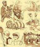 Jabberwocky doodles