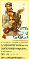 Colouring step by step
