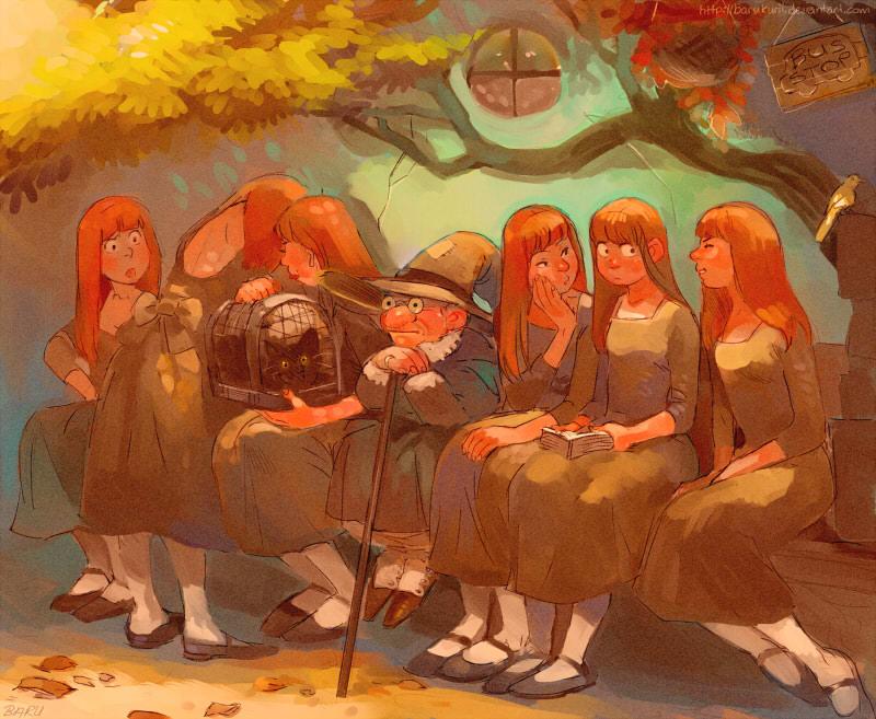Familiars by Barukurii