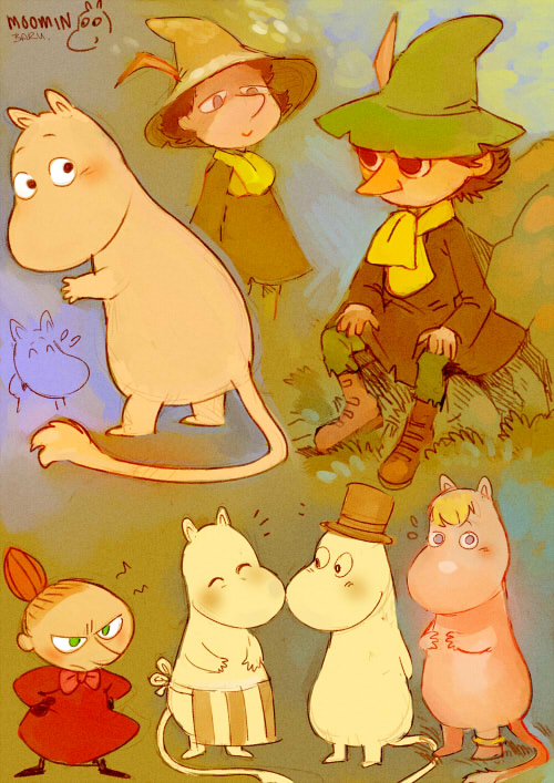 Moomin by Barukurii