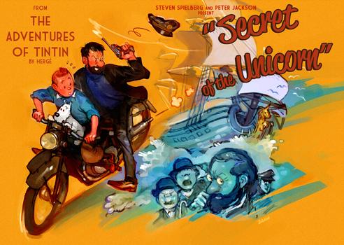 Tintin : Secret of the Unicorn