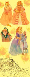 Beauty and the Beast switched by Barukurii