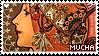 Mucha Stamp by Barukurii