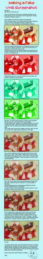 Step-by-Step: Making a Fake VHS Screenshot