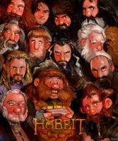 The Hobbit Poster parody