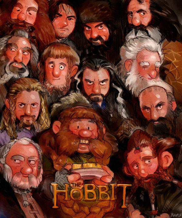 The Hobbit Poster parody by Barukurii