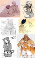 The Hobbit ate my soul by Barukurii