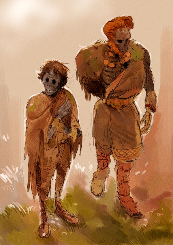 Undead Bog Bodies by Barukurii