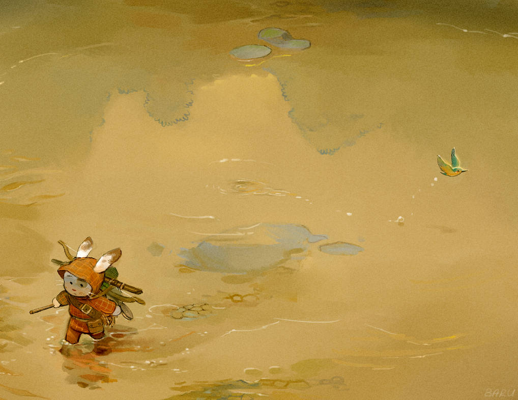 Crossing Paths by Barukurii