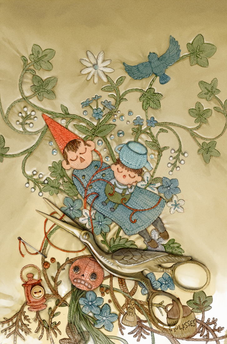 Over the Garden Wall Issue #1 Variant Cover by Barukurii on DeviantArt