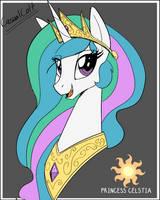 Princess Celestia by CasualColt