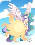 Princess Celestia collaboration