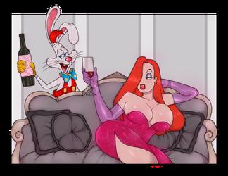 Jessica And Roger Rabbit by xxCuteEmmyxx