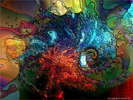 Sea Life Abstract by GypsyH