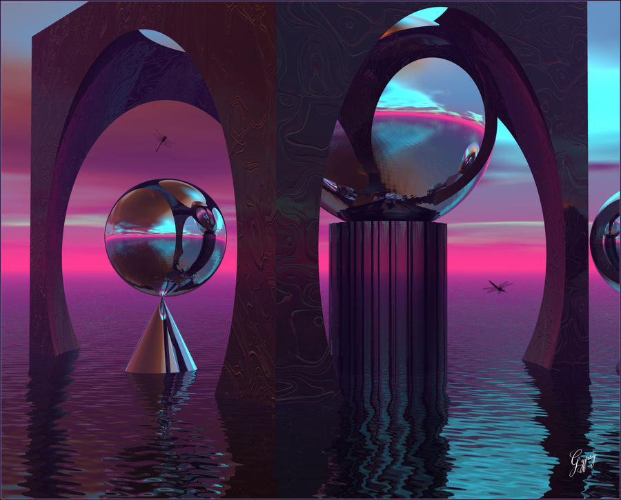 Blueberry Isle for DarkRider by GypsyH