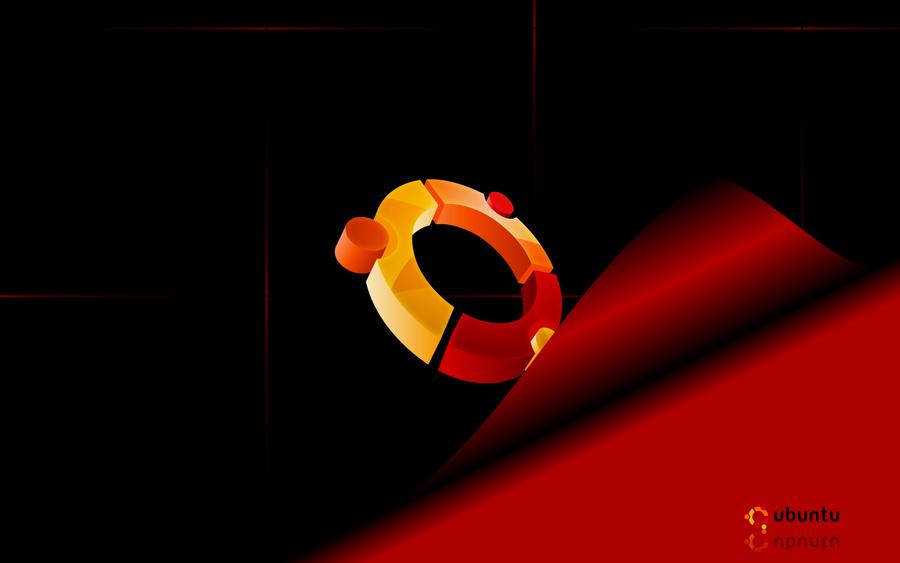 Ubuntu Red by GypsyH