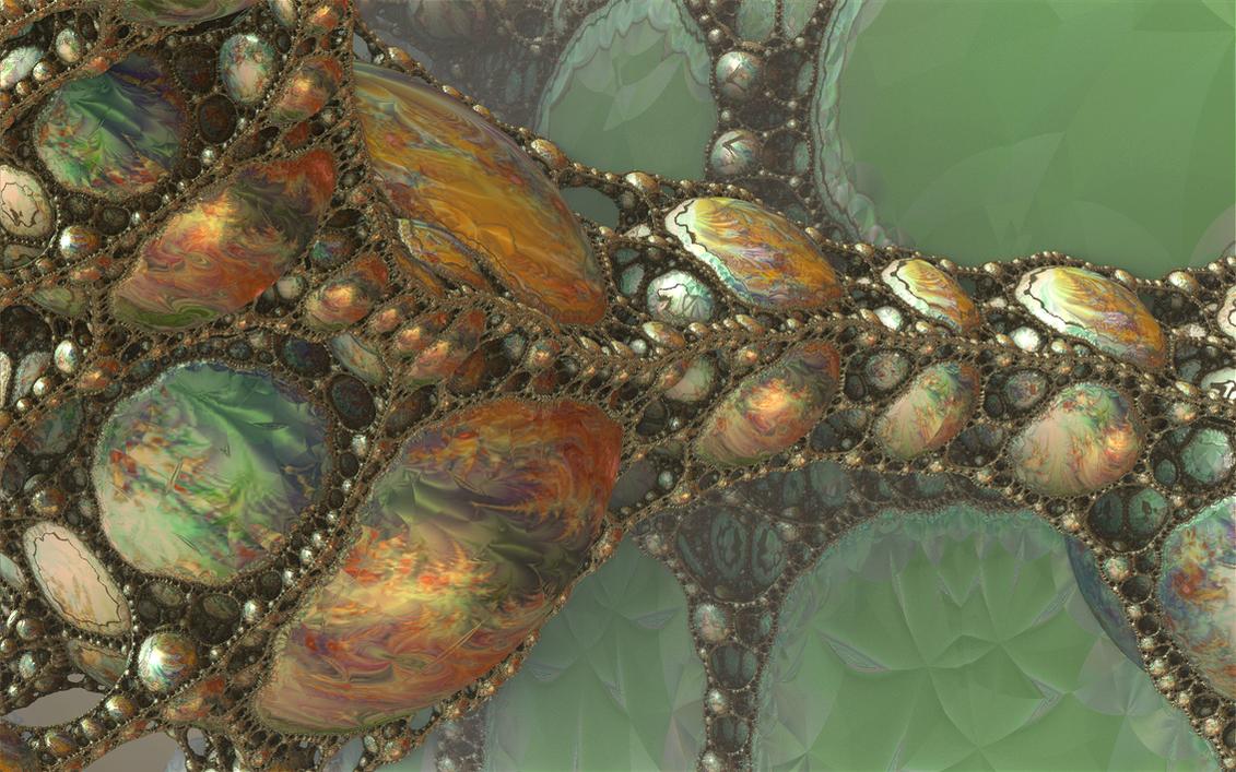 Encased Marbles by GypsyH
