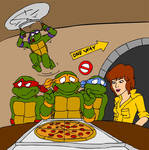 TMNT - Pizza Time